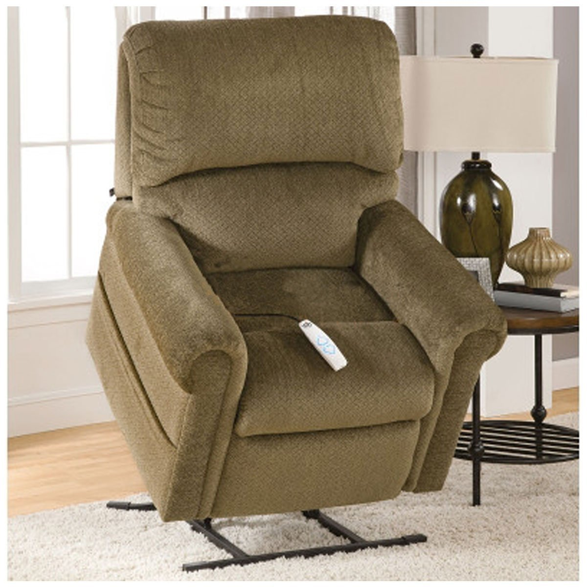 kitchen omni lift recliner lb full power large duty dining thistle heavy chair recliners com capacity dp amazon out catnapper lay