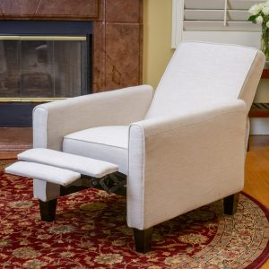 Best Value Budget High Leg Recliner Fabric Upholstery