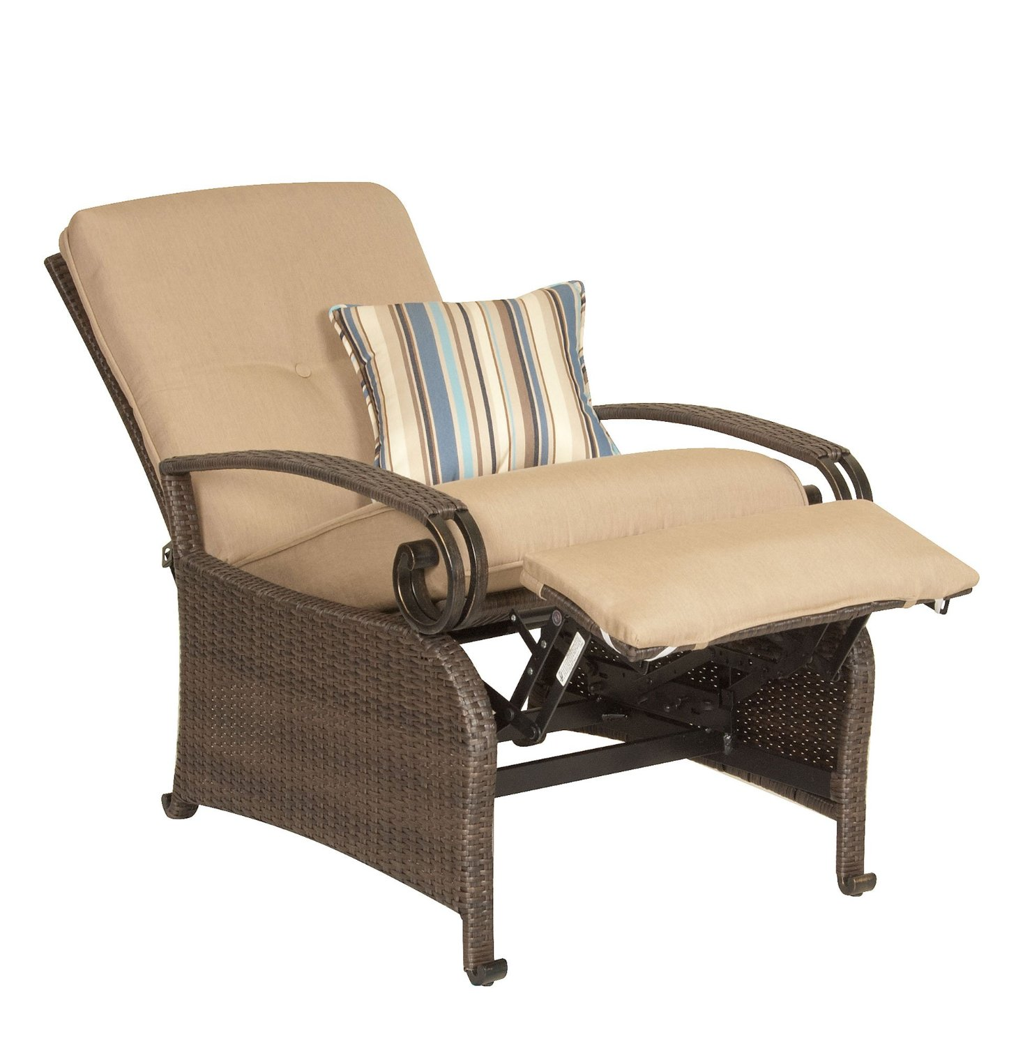 Comfortable reclining garden chairs top 3 outdoor for Reclining patio chair