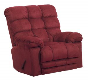 Large Heat Massage Rocker Recliner Extra Wide