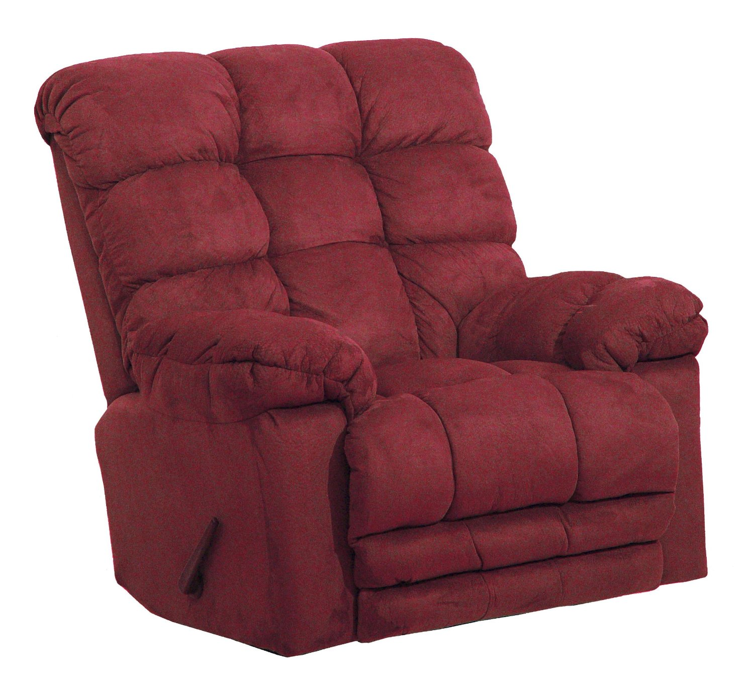 style size plus onestopplus anne queen chairs pin recliner extra wingback tall seating big large chair and tufted