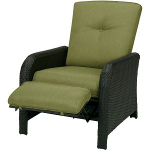Premium Stylish Outdoor Recliner Wicker Chair