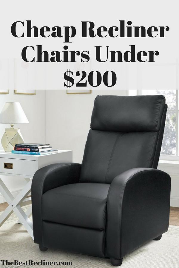 Cheap Recliner Chairs Under $200