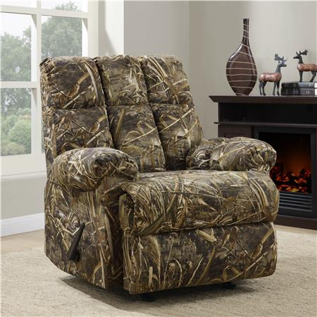 Dorel Living Camouflage Rocker Recliner