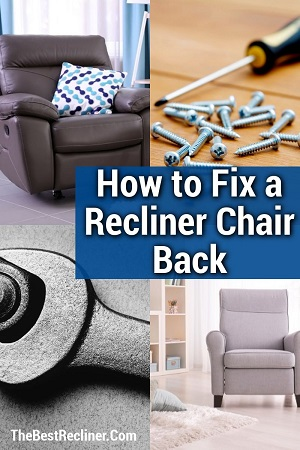 How to Fix a Recliner Chair Back